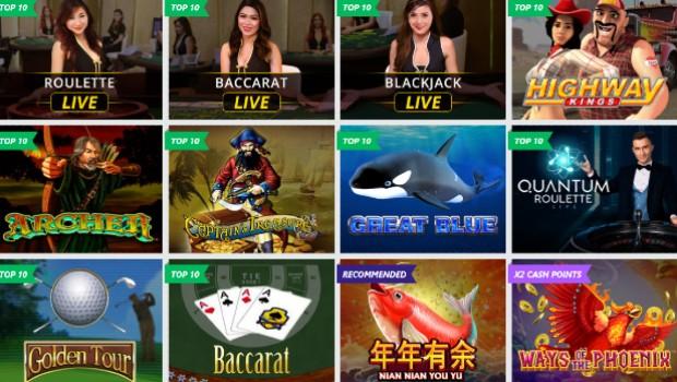 dafabet online casino games
